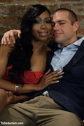 Sexxxy Jade is back at TS-Seduction making a slutty white-boy her bitch