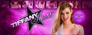 Horny new shemale porn star Tiffany Starr opens her own solo website