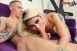 TS porn star Domino Presley a big dick