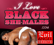 Hung black shemales in hardcore action at iloveblackshemales.com